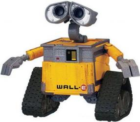 vivid imagination wall e
