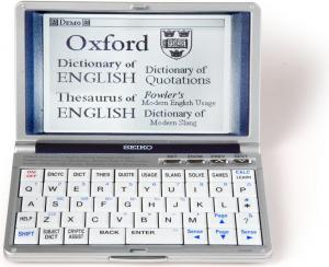 seiko er 9000 oxford english dictionary electronic