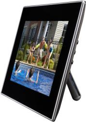 linx memoire 8inch photo frame side view