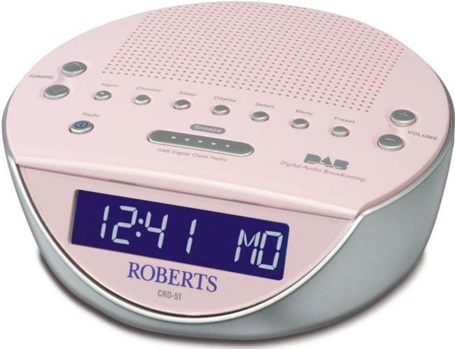 review roberts glowtime crd 51 dab clock radio. Black Bedroom Furniture Sets. Home Design Ideas