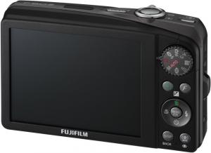 fuji f60 digital camera rear view