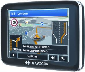 navigon 2210 Lane Assistent Pro UK GPS system