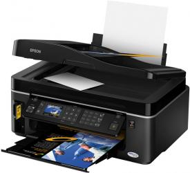 epson SX600fw multifunction printer scan copy