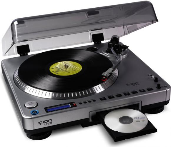 review cd record player