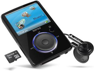 sandisk sansa fuze 4G MP3 player