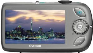 canon ixus 110 is compact digital camera rear view