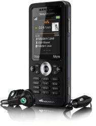 sony ericsson w302 phone with headset
