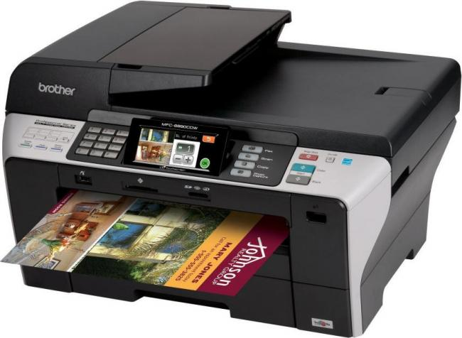 Review Brother A3 Injet Multifunction Mfc 6890cdw