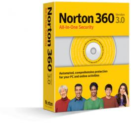 norton 360 degree security version 3