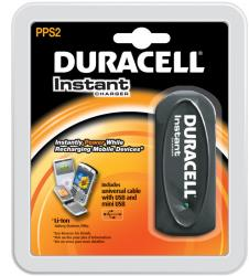 duracell instant charger battery usb