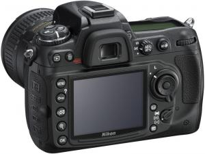 nikon d300s dslr rear view