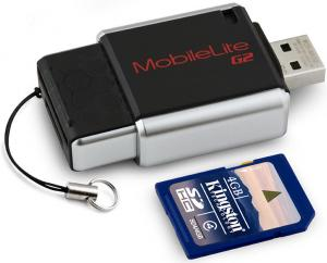 kingston MobileLiteG2 memory card reader 4GB sdhc