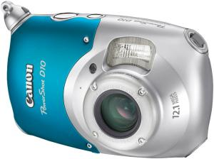 canon powershot d10 waterproof compact digital camera