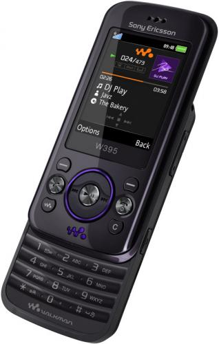 sony ericsson slide phone. sony ericsson w395 mobile phone slide