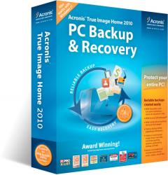acronis true image home 2010 pc backup and restore