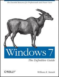 oreilly definitive guide to Windows 7