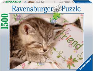 ravensburger sleeping kitten jigsaw puzzle