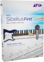 avid sibelius first music composition software