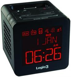 Logic3 i Station TimeCube Clock Radio iPhone iPod
