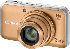 canon PowerShot SX210IS digital compact camera