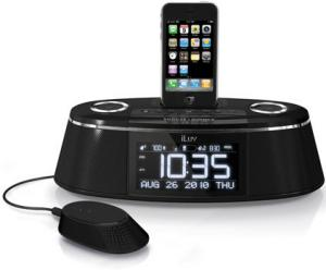 iluv vibe plus ipod alarm clock