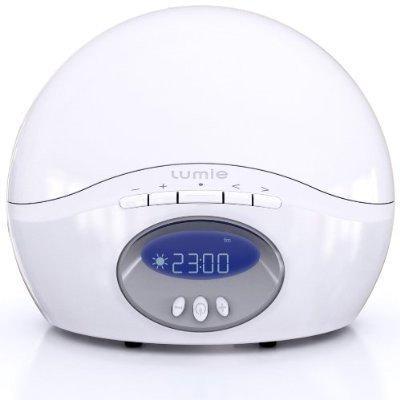 review lumie bodyclock wake up light alarm clock. Black Bedroom Furniture Sets. Home Design Ideas
