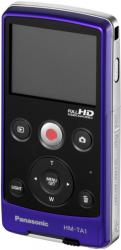 panasonic HD Mobile Camera HM TA1 rear view