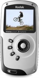 kodak playsport Zx3 Waterproof HD Pocket Video Camera controls