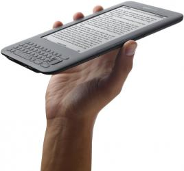 amazon kindle ebook reader graphite hand