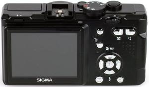 Sigma DP1 14MP Digital Camera controls