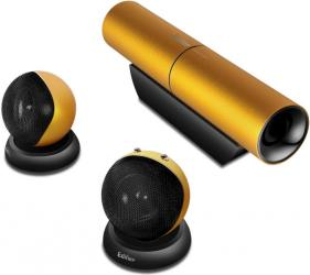 edifer Aurora 2 1 Speaker with Slim Subwoofer and Compact Satellites