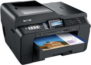 brother MFC6910DW A3 multi function printer side