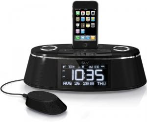 iLuv iMM178 Dual Alarm Clock for iPhone and iPod