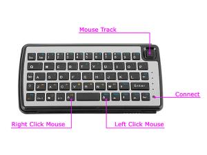 Dual Connect Slim Bluetooth Keyboard