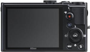nikon coolpix p300 digital camera rear controls