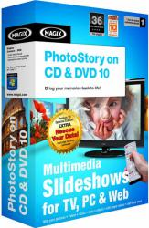 magix photostory 10 dvd cd