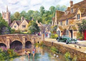 Gibsons Castle Combe Jigsaw Puzzle