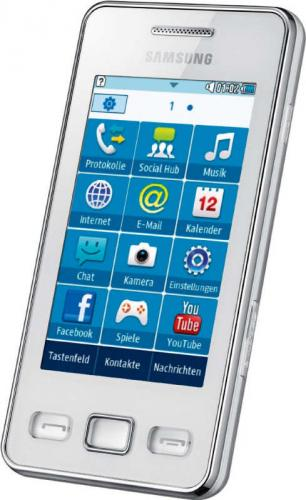 review samsung gt s5260 star ii rh gadgetspeak com Samsung Rugby Samsung TV Schematics