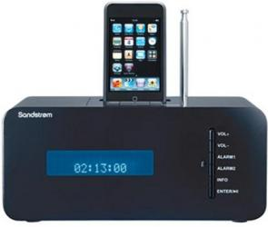 SANDSTROM S66IDAB10 iPod Docking Station
