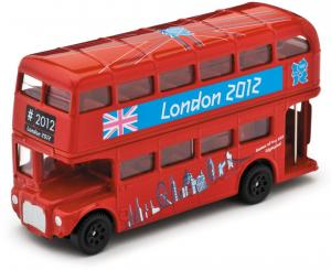 corgi london red double decker bus