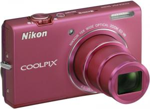 Nikon Coolpix S6200 Digital Camera Pink