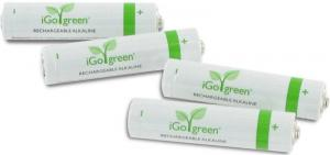 igo green rechargeable alkaline batteries