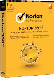 symantic norton 360 v6 anti virus protection