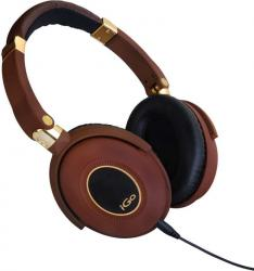 iGo City Active Noise Cancelling Headphone brown