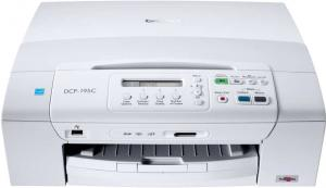 Brother DCP 195 all in one printer scan copy