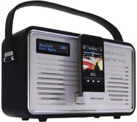 View Quest Retro DAB Radio and iPhone Dock