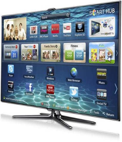 SAMSUNG 40IN LED TV ES7000