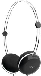 iLuv iHP614 BLK Sweet Cotton Stereo Headphones
