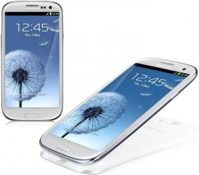 samsung galaxy S III android smart phone