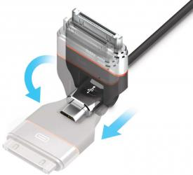 iluv usb ipad iphone smartphone charger